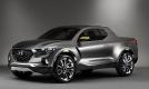 Mẫu xe bán tải Hyundai Santa Cruz sắp đi vào sản xuất