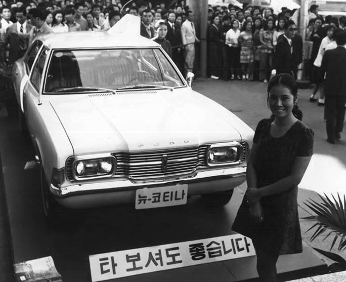 Hyundai Cortina lần đầu tiên ra mắt và giới thiệu năm 1968