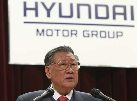 Chung Ju-Yung người sáng lập ra tập đoàn ô tô Hyundai Hàn Quốc