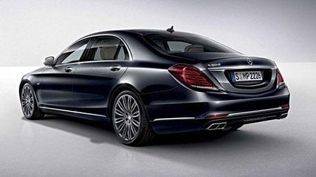 Xuất hiện Mercedes-Benz S600 2015